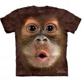 "Футболка The Mountain ""Big Face Baby Orangutan"" (детская)"