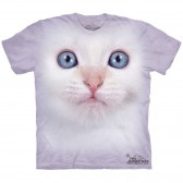 "Футболка ""White Kitten Face"" (США)"