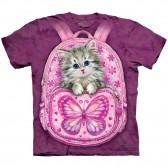 "Футболка The Mountain ""Backpack Kitty"" (детская)"