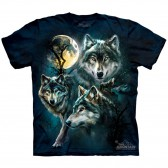"Футболка The Mountain ""Moon Wolves Collage"" (детская)"