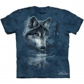 "Футболка The Mountain ""Wolf Reflection"" (детская)"