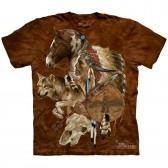 """Футболка """"Wolf Spirit Warrior"""" (США)"""