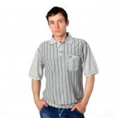 """Рубашка-Поло с карманом """"Mostom"""" -4"""