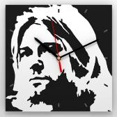 "Часы 3D настенные ""Kurt Cobain"""