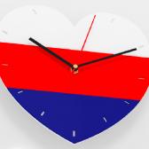 """Часы 3D настенные """"I love Russia"""""""