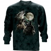 "Футболка с длиным рукавом ""Three Wolf Moon Classic"" (США)"