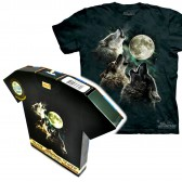 "Футболка в подарочной коробке The Mountain ""Three Wolf Moon"""