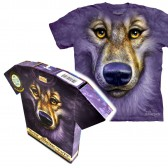 "Футболка в подарочной коробке The Mountain ""Friendly Wolf Face"""