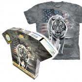 "Футболка в подарочной коробке The Mountain ""Patriotic Tiger"""