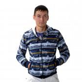 """Толстовка мужская на молнии с капюшоном """"Glacier Wear"""" -03"""