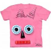 "Футболка ""Big Face Pink Robot"" (США)"