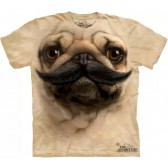 "Футболка ""Big Face Pug Stache"" (США)"