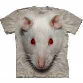 "Футболка ""Big Face White Rat"" (США)"