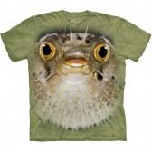 "Футболка ""Big Face Blow Fish"" (США)"