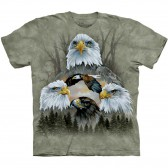 "Футболка ""Five Eagle Collage"" (США)"
