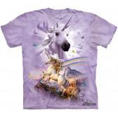 """Футболка """"Double Rainbow Unicorn"""" (США)"""