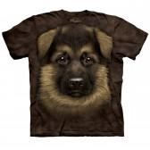 "Футболка The Mountain ""German Shepherd Puppy"" (десткая)"