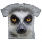 "Футболка ""Big Face Ring Tailed Lemur"" (США)"