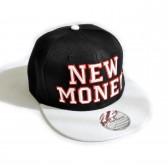 """Кепка рэперская """"New Money"""" (black & white)"""