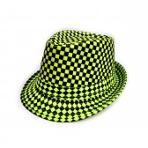 """Шляпа женская """"Клетка"""" (green)"""