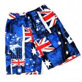 "Шорты ""Authentic"" (Британский флаг, blue)"