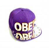 "Бейсболка 3D ""OBEY"" (violet)"