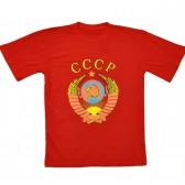 "Футболка красная ""Герб СССР"""