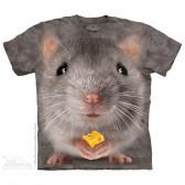 "Футболка ""Big Face Grey Mouse"" (США)"