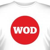 """Футболка """"WOD"""""""
