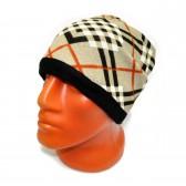 Шапка-шарф флисовый с орнаментом -28