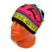 Шапка-шарф флисовый с орнаментом -29