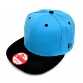 Бейсболка с прямым козырьком, New Era (blue & black)