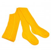 Колготки детские, трикотажные (желтый)