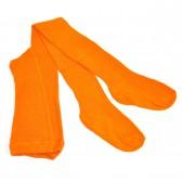 Колготки детские, трикотажные - 03 (оранжевый)