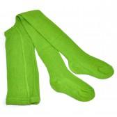 Колготки детские, трикотажные (светло-зеленый)