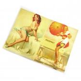 """Обложка для паспорта """"Девушки ретро"""" -02"""