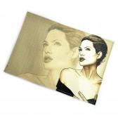 """Обложка для паспорта """"Angelina Jolie"""""""