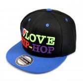 """Кепка реперская """"I love Hip-Hop"""" (детская) -02"""