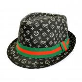 """Шляпа мужская """"LV"""" -04"""