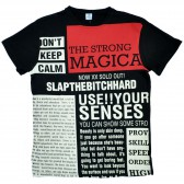 "Футболка ""The Strong Magica"" (black)"