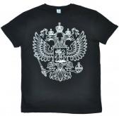 """Футболка """"Герб России"""" (black)"""