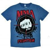 "Футболка ""MMA Fighting"" (blue)"