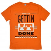 "Футболка ""Gettin It Done"" (orange)"
