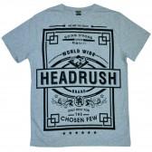 """Футболка """"Headrush"""" (gray)"""