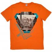 """Футболка """"Rock Style"""" (orange)"""
