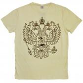 """Футболка """"Герб России"""" (beige)"""
