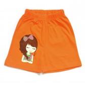"""Шорты для девочки """"Girl"""" (orange)"""