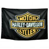 "Флаг ""Harley-Davidson - Sed Non Satiata"""