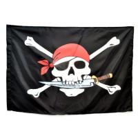 Флаг Черной Бороды