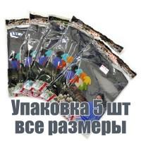 Упаковка футболок, 5 шт, 5 размеров (Темно-серый)
